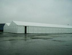 仓储帐篷:上海科勒公司仓储帐篷