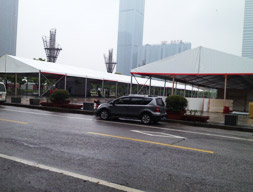 车展篷房:太湖广场汽车展览