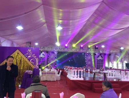 婚礼宴会篷房