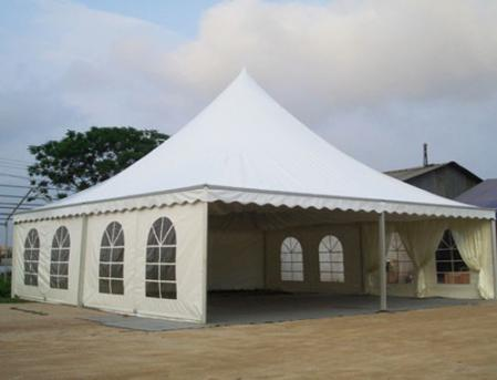 10米尖顶篷房