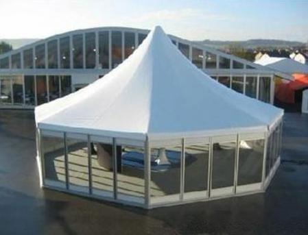 六边尖顶篷房