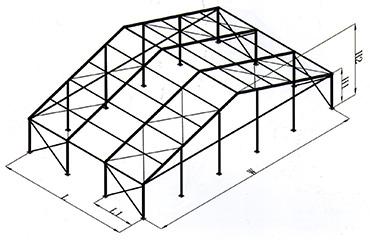 小型车展篷房